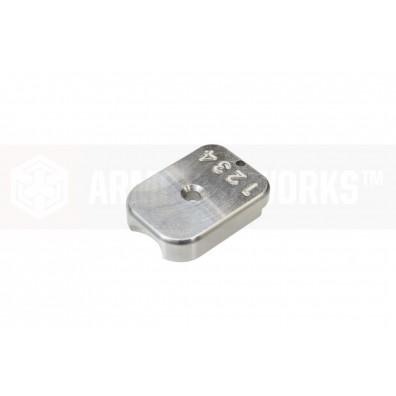 AW Custom™ MagID HX CNC Aluminium Baseplate [Silver]