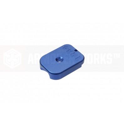 AW Custom™ MagID HX CNC Aluminium Baseplate [Blue]