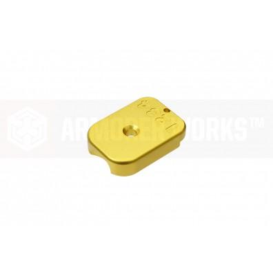 AW Custom™ MagID HX CNC Aluminium Baseplate [Gold]