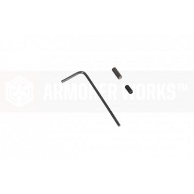 AW Custom™ HX CNC Aluminium Baseplate [Red]