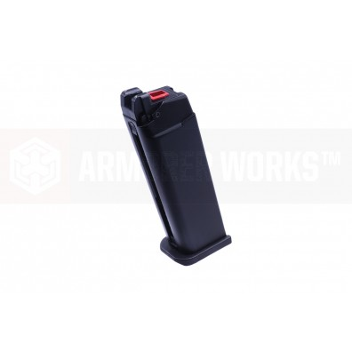 VX7 Series (Standard Slide Ver) 27 Round Gas Magazine  - Black