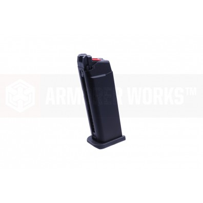 VX9 Series (Standard Slide Ver) 23 Round Gas Magazine  -  Black