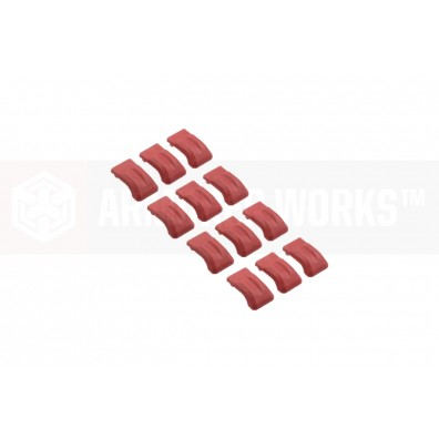 Adaptive Drum Magazine Shockproof Pads - Red