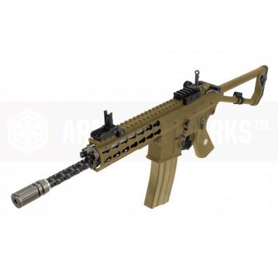 EMG / Knights Armament Airsoft PDW M2 Standard Gas Blowback Rifle (Tan)