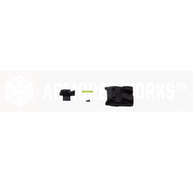 EMG / Salient Arms International DS Pistol Front and Rear Sight